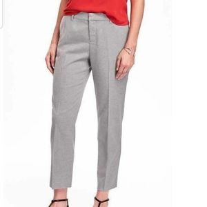 [Old Navy]Heather Gray Mid-Rise Harper Ankle Pants
